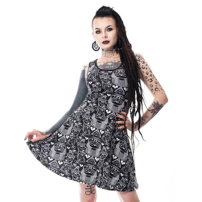 šaty dámské Killer panda - EGYPT - BLACK
