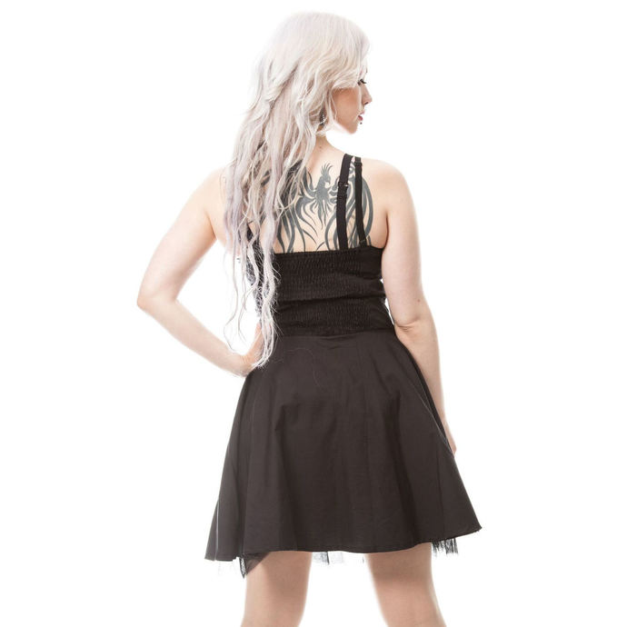 šaty dámské VIXXSIN - GHOST TOWN - BLACK