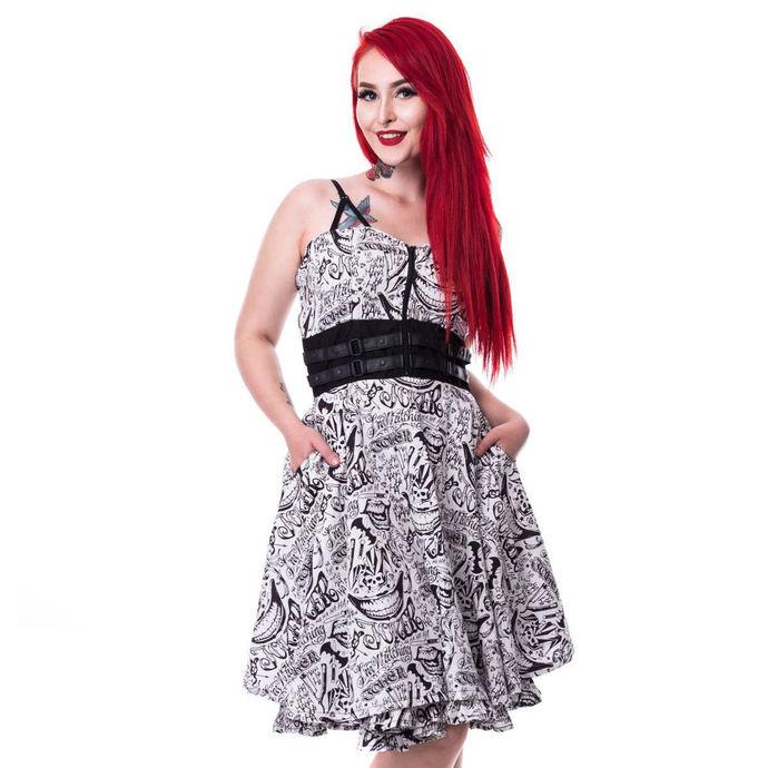 šaty dámské SUICIDE SQUAD - JOKER TATTOO - WHITE