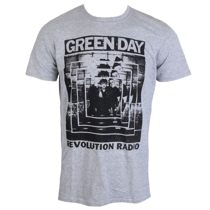 tričko pánské GREEN DAY - POWER SHOT - PLASTIC HEAD