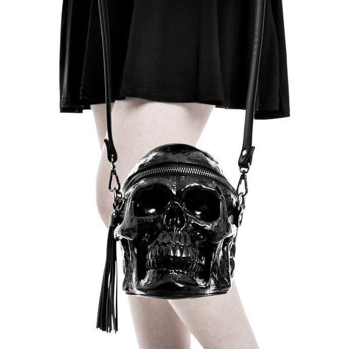 taška (kabelka) KILLSTAR - Grave Digger Skull - Black