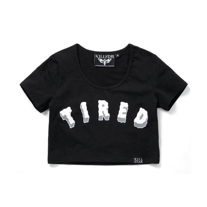 tričko dámské (top) KILLSTAR - Tired Scoop - Black