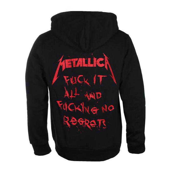 mikina pánská Metallica - No Regrets - Black