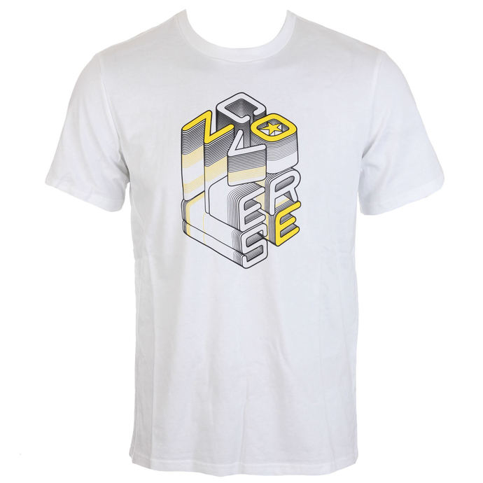 tričko pánské CONVERSE - Converse 3D Wordmark - White