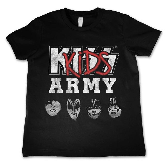 tričko dětské KISS - Army - HYBRIS