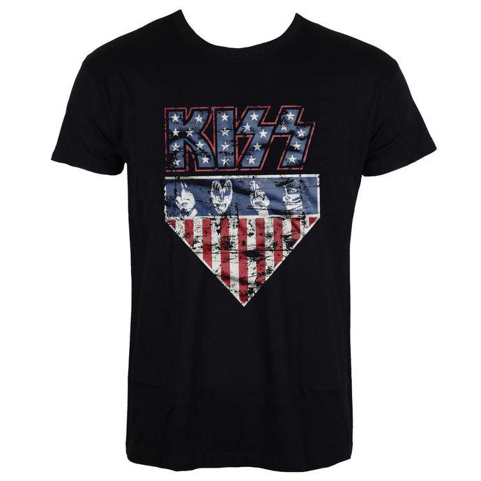 tričko pánské KISS - Stars & Stripes - HYBRIS