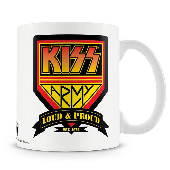 hrnek KISS - Army - HYBRIS