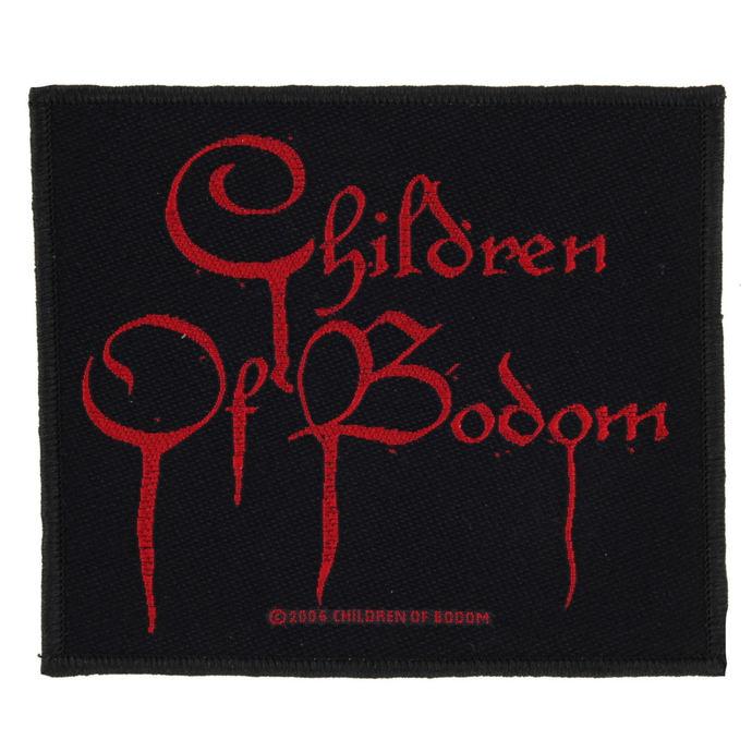 nášivka CHILDREN OF BODOM - BLOOD LOGO - RAZAMATAZ