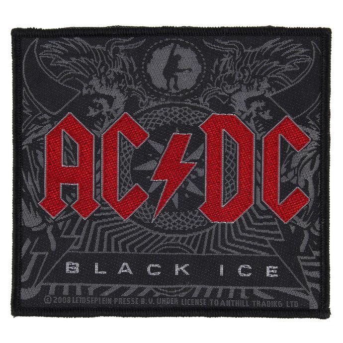 nášivka AC/DC - BLACK ICE - RAZAMATAZ