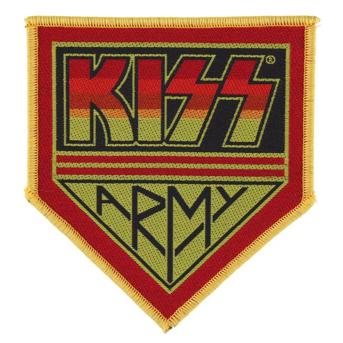 nášivka KISS - KISS ARMY BADGE - RAZAMATAZ