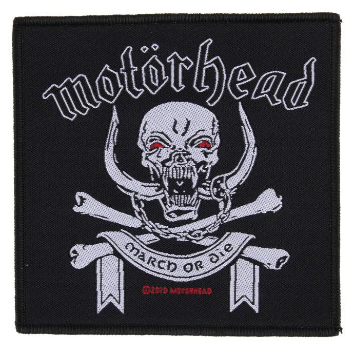 nášivka Motörhead - March ör Die - RAZAMATAZ