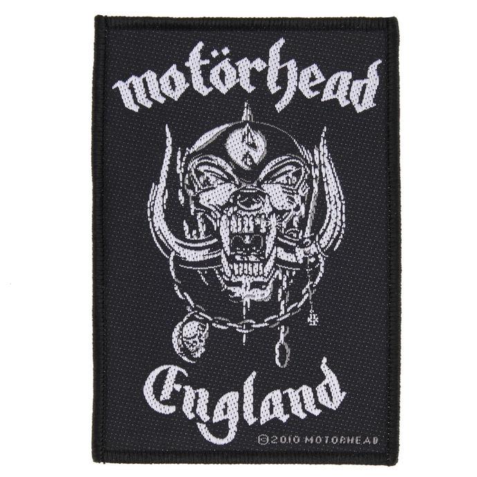 nášivka Motörhead - ENGLAND - RAZAMATAZ
