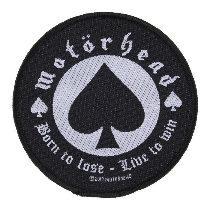 nášivka Motörhead - BORN TO LOSE - RAZAMATAZ