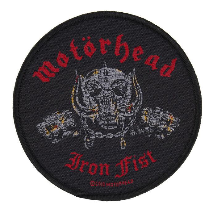 nášivka Motörhead - IRON FIST/SKULL - RAZAMATAZ