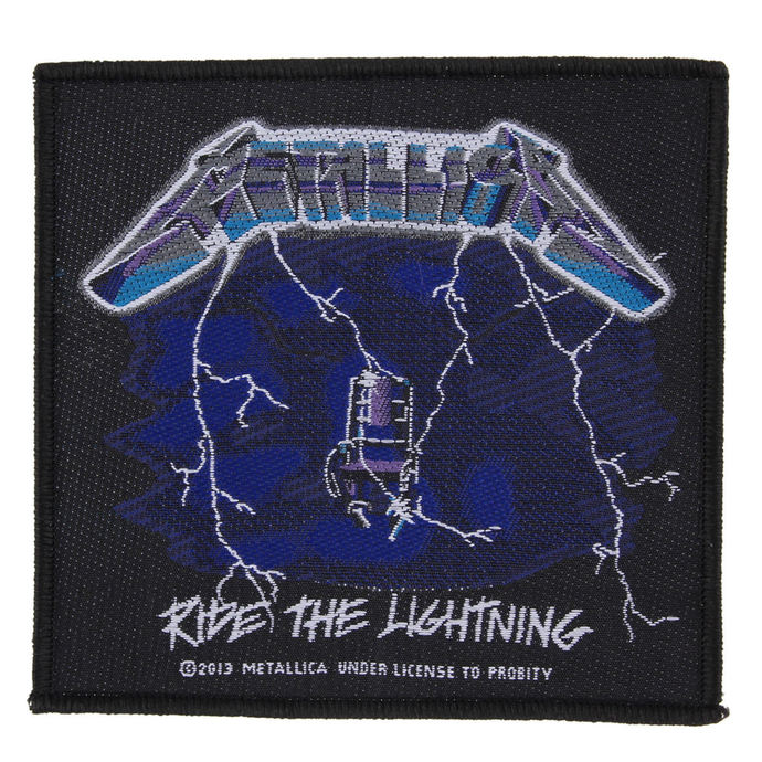 nášivka METALLICA - RIDE THE LIGHTNING - RAZAMATAZ