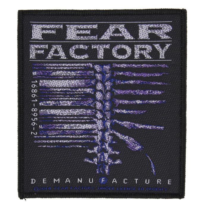 nášivka FEAR FACTORY - DEMANUFACTURE - RAZAMATAZ