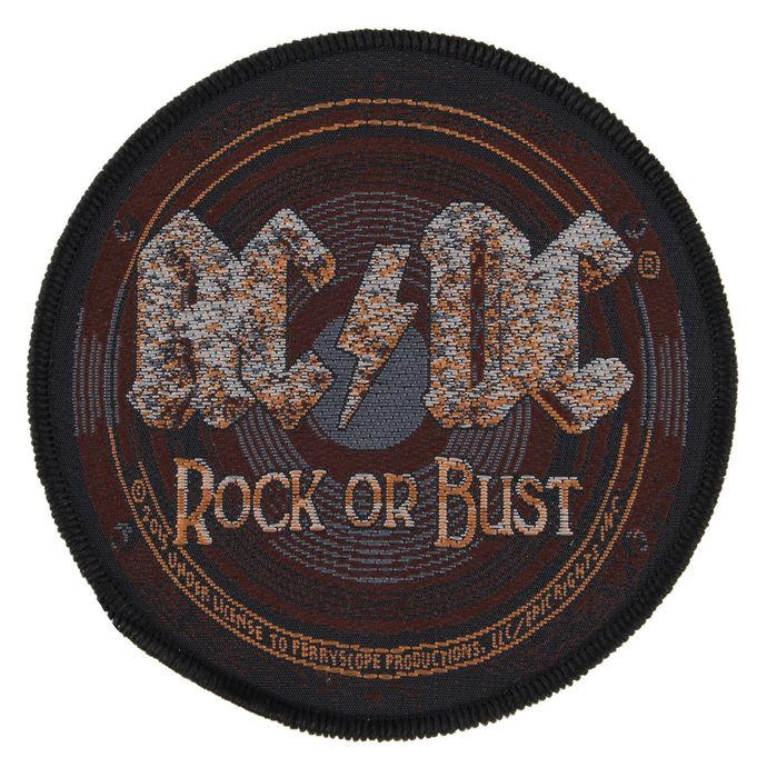 nášivka AC/DC - ROCK OR BUST - RAZAMATAZ