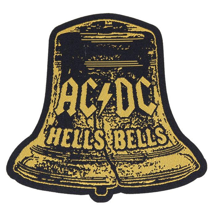 nášivka AC/DC - HELLS BELLS CUT OUT - RAZAMATAZ