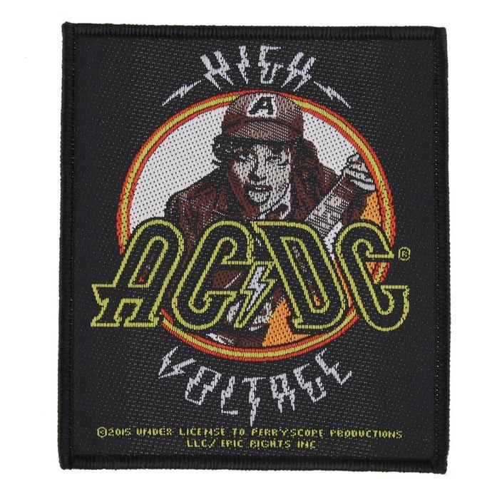 nášivka AC/DC - HIGH VOLTAGE ANOUS - RAZAMATAZ