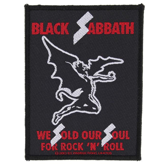 nášivka BLACK SABBATH - SOLD OUR SOULS - RAZAMATAZ