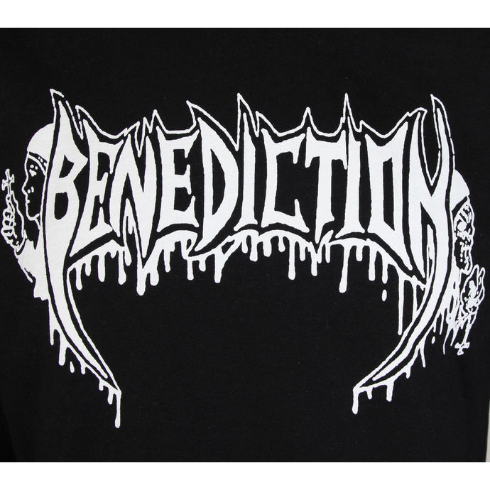 mikina dámská BENEDICTION - Old School - Logo