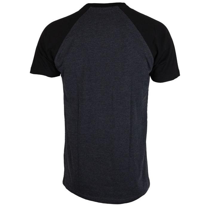 tričko pánské GRAVE DIGGER - Charcoal/Black