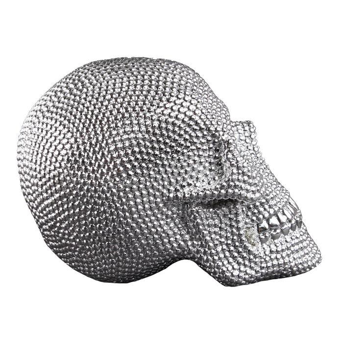 dekorace Skull - Silver