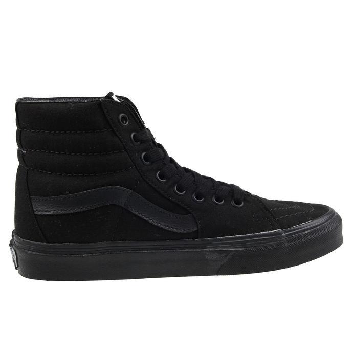 boty VANS - UA SK8-HI Black/Black/Black