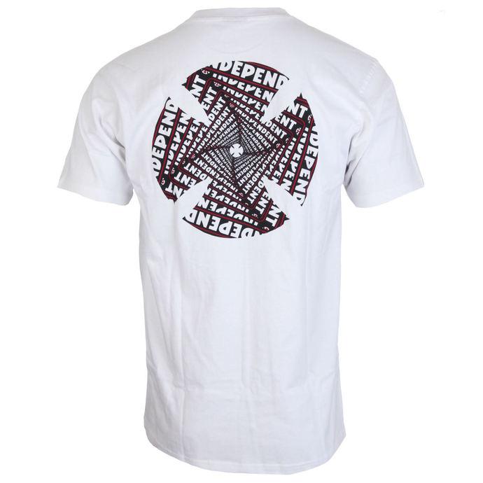 tričko pánské INDEPENDENT - Spiral White