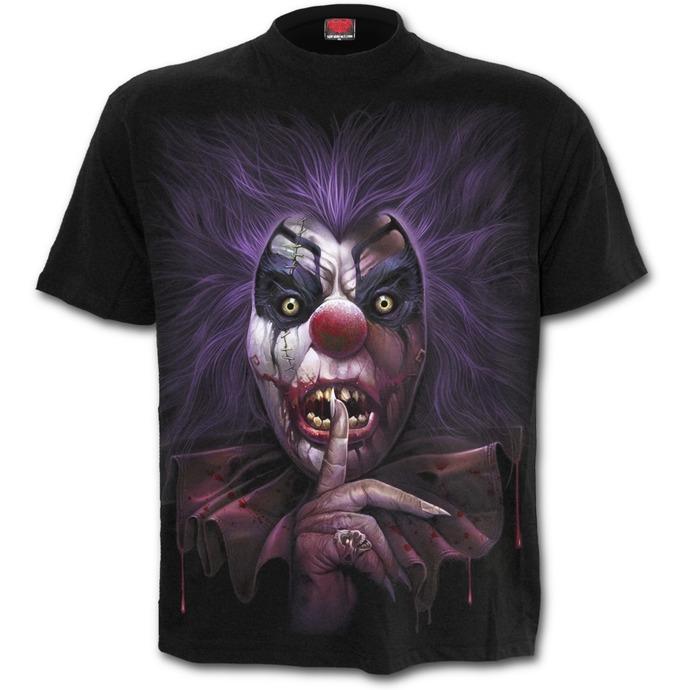 tričko pánské SPIRAL - MADCAP - Black