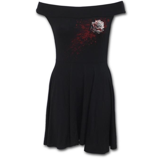 šaty dámské SPIRAL - WHITE ROSE