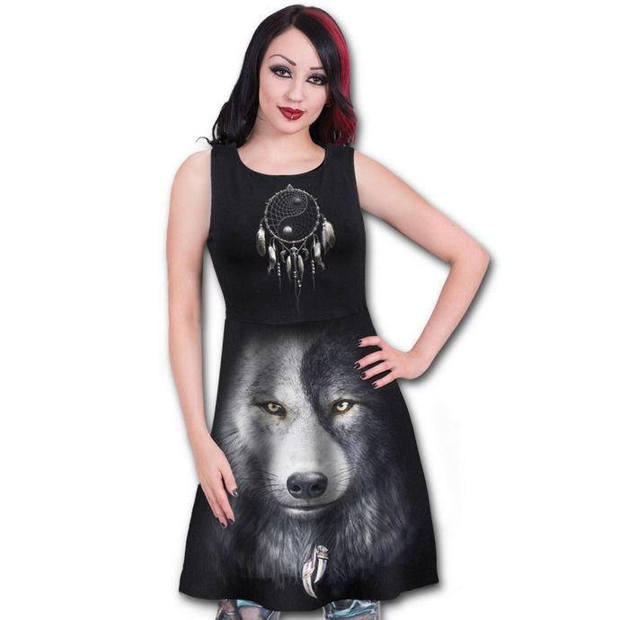 šaty dámské SPIRAL - WOLF CHI AO