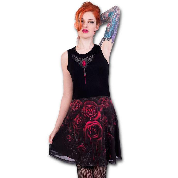 šaty dámské (top) SPIRAL - BLOOD ROSE AO