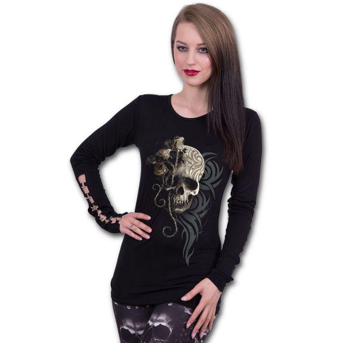 tričko dámské s dlouhým rukávem SPIRAL - DARK ANGEL