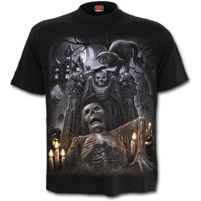 tričko pánské SPIRAL - LIVING DEAD - Black