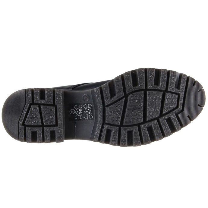 boty dámské IRON FIST - Hey You Guys Cleated Sole Flat (Black)