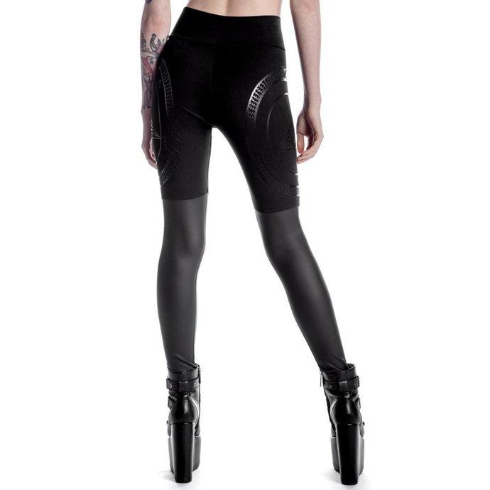 kalhoty dámské (legíny) KILLSTAR - Metal Descent - Black