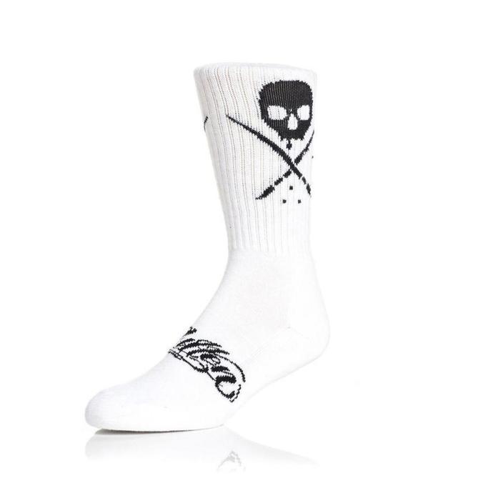 ponožky SULLEN - STANDARD ISSUE - WHITE/BLACK