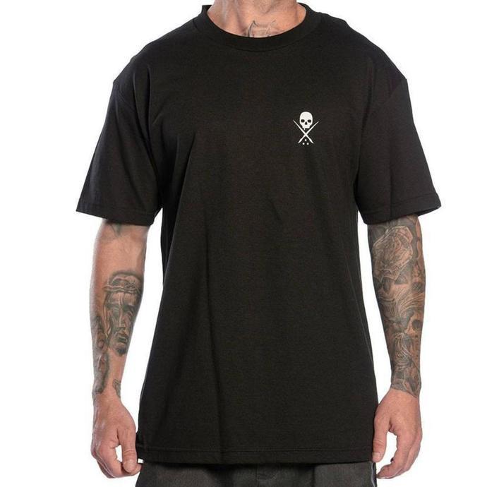 tričko pánské SULLEN - STANDARD ISSUE - BLACK/WHITE