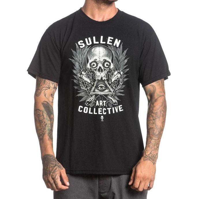 tričko pánské SULLEN - HOLMES BADGE - BLACK