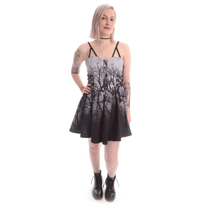 šaty dámské Vixxsin - DARK FOREST - GREY