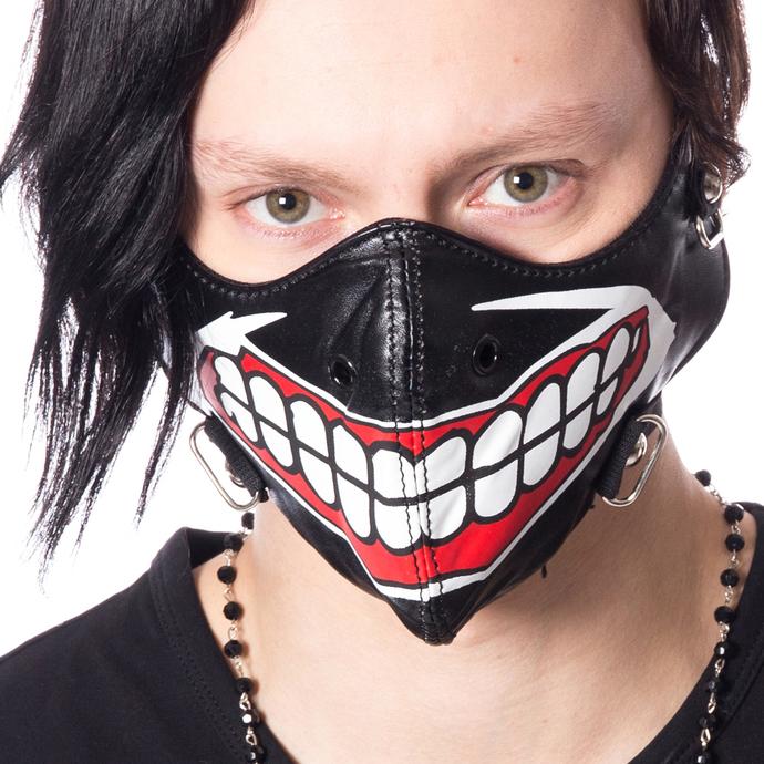 maska POIZEN INDUSTRUES - MUSCLE - BLACK