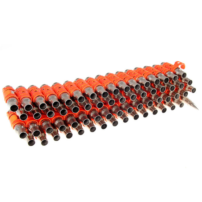 pásek Silver & Fluorescent - Orange Metal Bullet