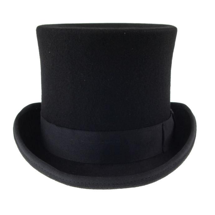 klobouk Top Tall - Black