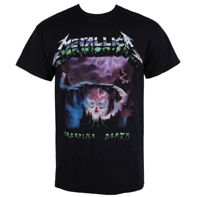 tričko pánské Metallica - Creeping Death - Black