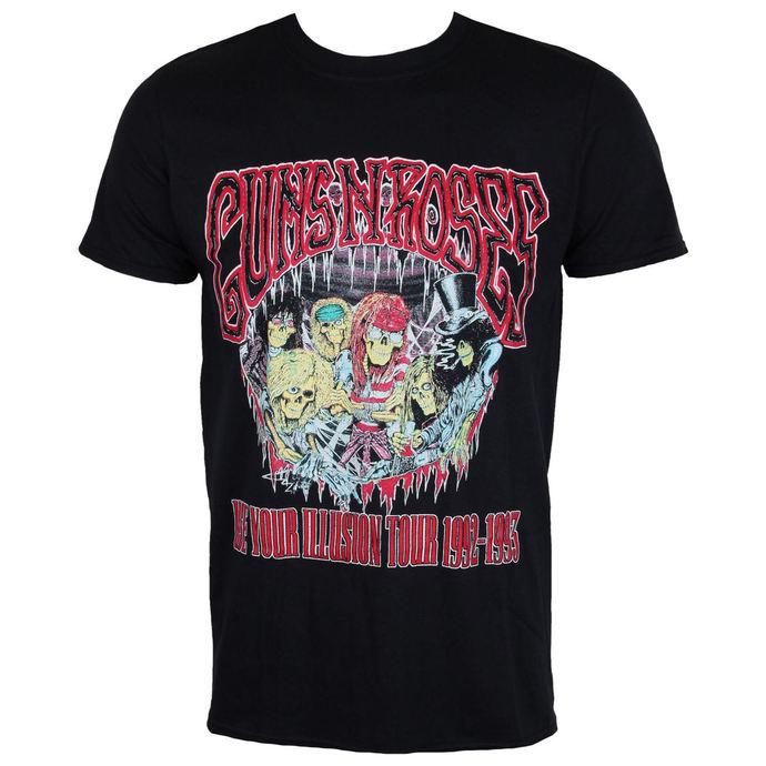 tričko pánské Guns N' Roses - Illusion Monsters - Black - ROCK OFF