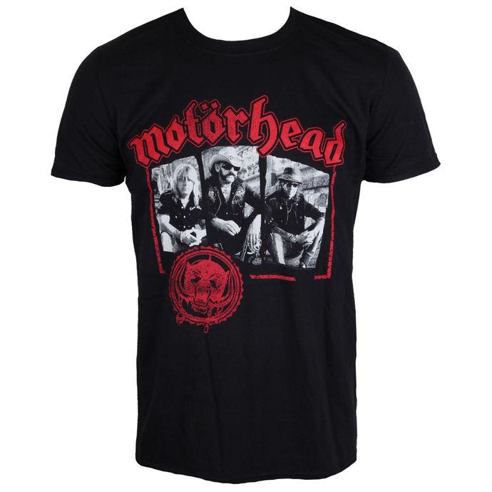 tričko pánské Motörhead - Stamped - Black - ROCK OFF