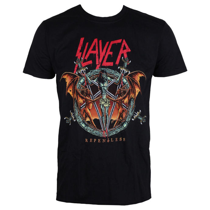 tričko pánské Slayer - Demon Christ Repentless - Black - ROCK OFF