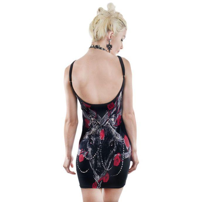 šaty dámské TOO FAST - ROSES FOR SATAN
