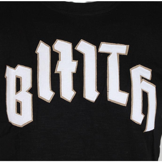 tričko pánské Bring Me The Horizon - Logo & Crooked Youth Icon Applique Slub - Black - ROCK OFF